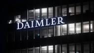 Die Konzernzentrale der Daimler AG in Stuttgart (Archivbild)