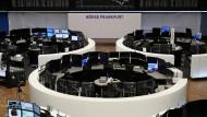 Der Handelssaal der Frankfurter Börse