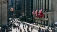 Ein Ort der Anlegerfreuden: die New Yorker Börse