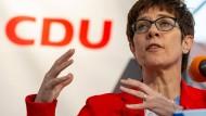 Warnt vor dem erhobenen moralischen Zeigefinger im Zusammenhang mit der christlichen Botschaft: die CDU-Vorsitzende Annegret Kramp-Karrenbauer