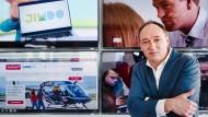 Pro-Sieben-Sat-1-Chef Max Conze will die digitale Reichweite seiner Sender erhöhen.