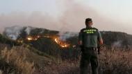 Gran Canaria kämpft zur Zeit mit einem schweren Waldbrand.