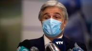 Uruguays Außenminister Francisco Bustillo