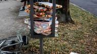 Nicht nur in Regensburg türmten sich im Sommer die Pizzakartons.