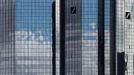 Die Deutsche-Bank-Türme in Frankfurt
