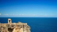 Homerischer Blick: Ansicht von der Akropolis von Lindos