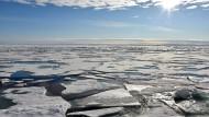 Nordpol: Auch hier auf dem Arktischen Ozean wirkt der Klimawandel.