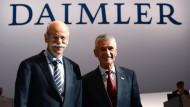 Der ehemalige Daimler-Chef Dieter Zetsche wird Aufsichtsrat bei Aldi Süd. Das liegt auch an seiner Freundschaft zum ehemaligen BASF-Chef Jürgen Hambrecht.