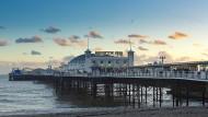 """""""Ich war schon lange nicht mehr in Brighton"""", sagte Graham Swift - ein Blick auf den Pier."""