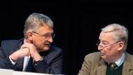 Da waren sie sich noch einig: Jörg Meuthen und Alexander Gauland beim Parteitag der AfD im November 2019
