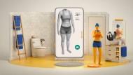 """Aus einem Werbevideo für Amazons Gesundheitsdienst """"Halo""""."""