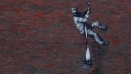 Street Artist bekennt sich: Knast-Graffito von Banksy