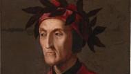 Dante Alighieri auf einem um 1540 entstandenen Gemälde, heute in Privatbesitz