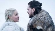 """""""Nun hast du Pferde für mich ruiniert"""": Daenerys (Emilia Clarke) und Jon Snow (Kit Harington)."""