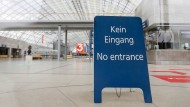 Ein trauriges Bild, das auch in diesem Jahr wieder zu sehen sein wird: Schon im Frühjahr 2020 hatte die Leipziger Buchmesse abgesagt werden müssen.