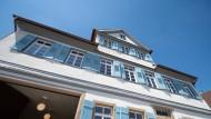 Hier verbrachte Hölderin zwei Jahre seiner frühen Kindheit: das Hölderlinhaus in Lauffen am Neckar.