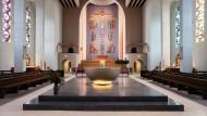 Frankfurter Frauenfriedenskirche saniert: Farbe und Fundament