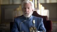 Später ein grausamer Herrscher: Donald Sutherland als Coriolanus Snow im zweiten Teil der Verfilmung