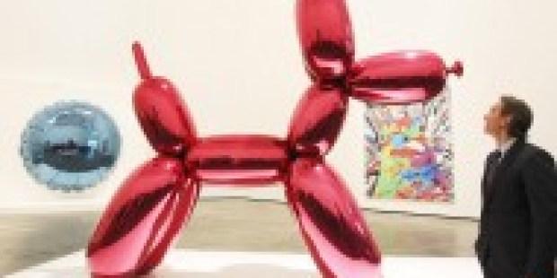 Der teuerste lebende Künstler: Jeff Koons hat eine neue Galerie