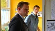 Zwei Detektive, ein Fall: Devid Striesow (links) und Golo Euler als Andi und Mads Schwartz.