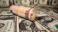 Der Euro ist obenauf.