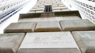 Sichere Bank: Gebäude der Federal Reserve von New York
