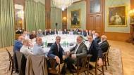Das nennen Notenbanker locker: Der EZB-Rat trifft sich 2019 zur Klausur im Kronberger Schlosshotel.