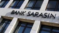 Hauptsitz der Schweizer Privatbank Sarasin in Basel