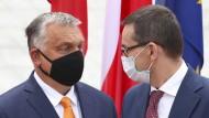 """Morawiecki im Interview: """"Die EU reagiert sich gern an Polen und Ungarn ab"""""""
