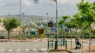 Die Siedlung Efrat im Westjordanland, südwestlich von Bethlehem.
