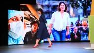 Arbeit am Selbstbild: Baerbock nach der Verkündung ihrer Kanzlerkandidatur im April