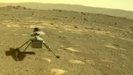 """Ausflug auf dem Mars: der Hubschrauber """"Ingenuity"""" der Nasa"""