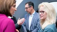 Kandidat*innen: Katrin Göring-Eckardt, Cem Özdemir und Kirsten Kappert-Gonther