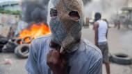 Am vierten Tag der Proteste in Haitis Hauptstadt