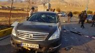 Anschlag nahe Teheran: Iranischer Atomphysiker ermordet