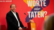 Der Hamburger AfD-Spitzenkandidat Dirk Nockemann