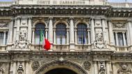 Der Justizpalast in  Rom. Hinter der üppigen Fassade läuft der Betrieb zu langsam.