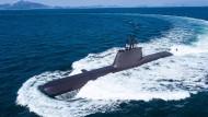 U-Boote der Klasse 214 (hier ein südkoreanisches im Juli 2017) werden zwar in der Türkei gebaut, doch Teile werden aus Deutschland geliefert.