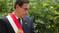 Martín Vizcarra im Oktober 2019 in Lima