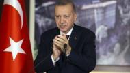 Recep Tayyip Erdogan am Dienstag in Istanbul
