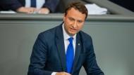 Der ehemalige Thüringer CDU-Bundestagsabgeordente Mark Hauptmann im Juni 2019