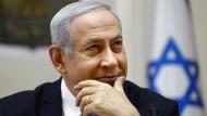 Benjamin Netanjahu, Premierminister von Israel, hat sich bislang mit Äußerungen zum Iran zurückgehalten.