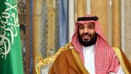 Muhammad Bin Salman im September 2019 in Jiddah
