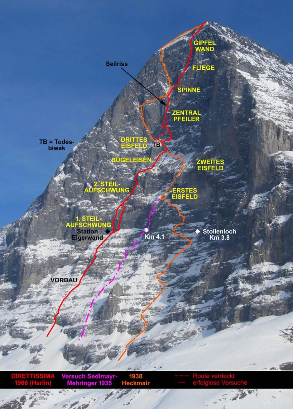Bilderstrecke zu Die EigerNordwand bleibt die Wand der Wnde  Bild 5 von 6  FAZ