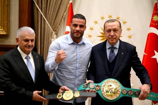 Bildergebnis für erdogan boxer gürtel