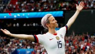 Ikone des internationalen Sports: Megan Rapinoe, die Jeanne d'Arc des Fußballs