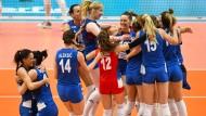 Goldene Girls: Serbiens Volleyballfrauen gewinnen nach der EM auch die WM