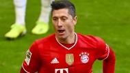 Will weiterhin Tore für den FC Bayern schießen: Robert Lewandowski