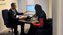Werden immer seltener: Bank-Beratungsgespräche mit Beratern aus Fleisch und Blut.