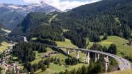 Zu Urlaubszeiten oft gut ausgelastet: der Brenner.